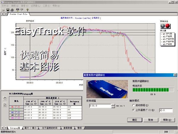 Datapaq EasyTrack2 ETE-254-112-2软件介绍图02